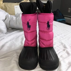 Ralph Lauren children's snow boots